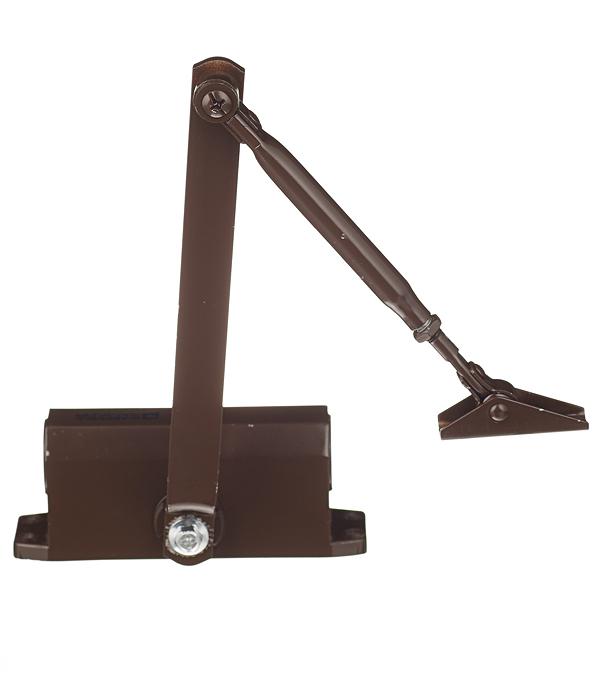 Доводчик дверной ФЗ 25-45 кг коричневый доводчик дверной palladium 1060 40 60 кг коричневый