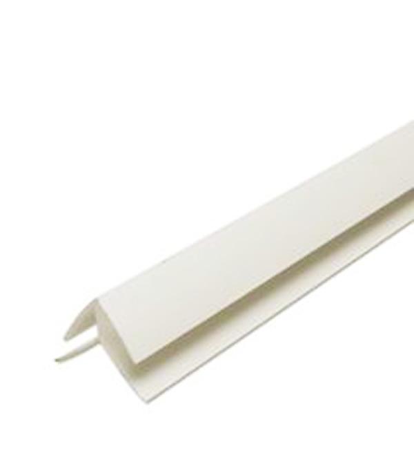 Внешний угол 3000х10 (8) мм угол внутренний 3000 мм цвет белый