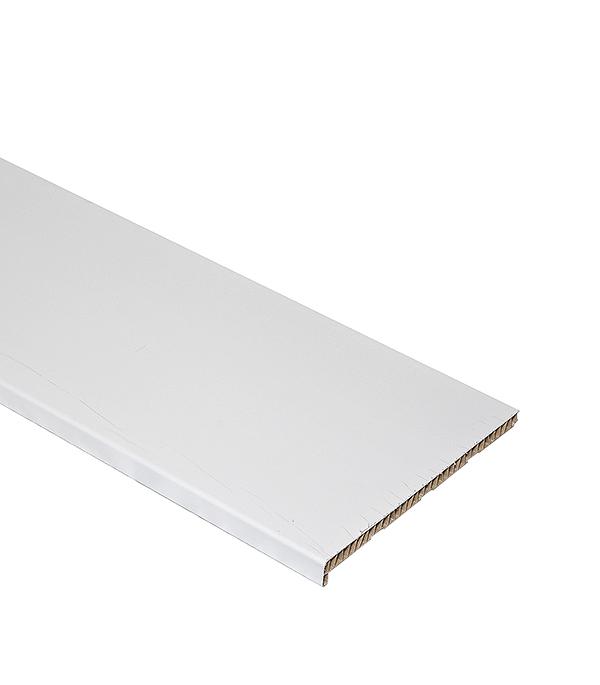Подоконник пластиковый Стандарт 400х2000 мм белый