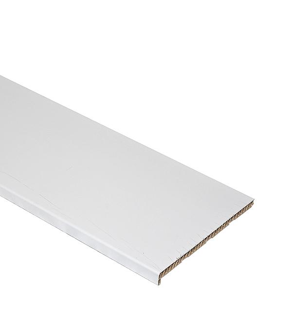 Подоконник пластиковый Стандарт 400х3000 мм белый