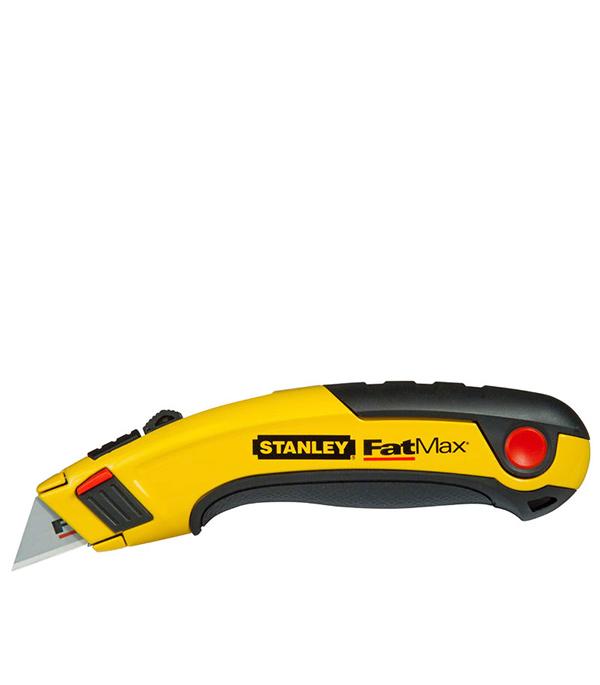 Нож Stanley Fatmax с выдвижным лезвием 19 мм 5 лезвий нож stanley с выдвижным лезвием
