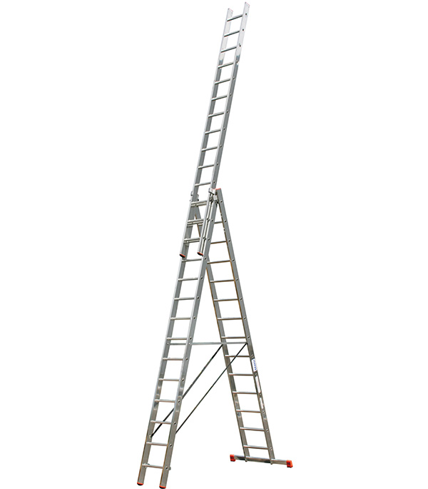 Лестница Krause 3-х секционная профессиональная 3х14