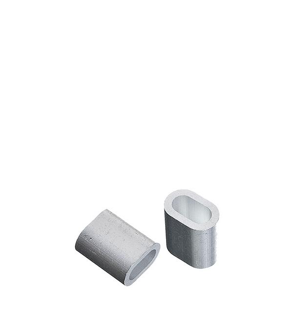 Зажим троса DIN 9093 прижимной 2 мм (2 шт) сетка волейбольная glav 03 200 любительская нить d 2 мм без троса