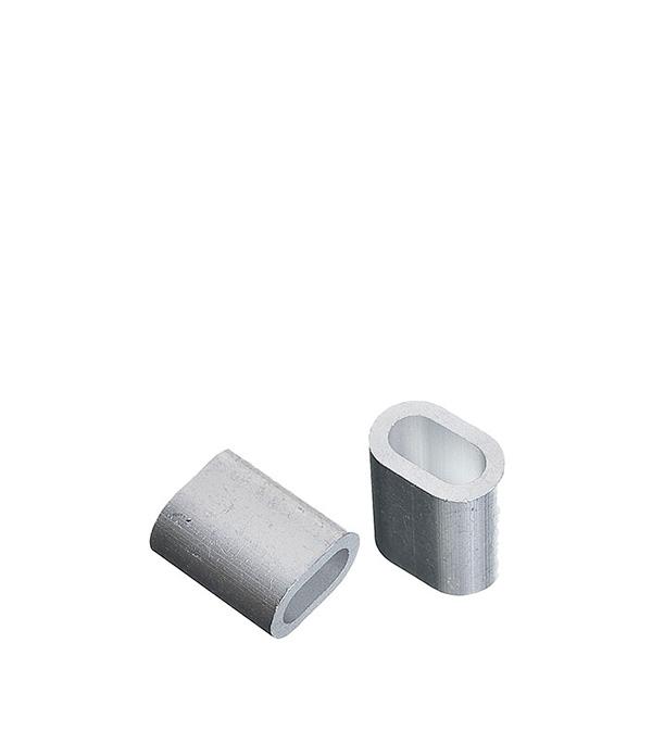 Зажим троса DIN 9093 прижимной 3 мм (2 шт) сетка волейбольная glav 03 200 любительская нить d 2 мм без троса