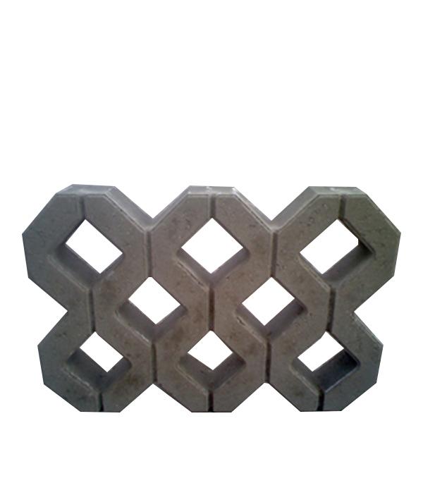 Решетка газонная Меба 400х600х100 мм серая