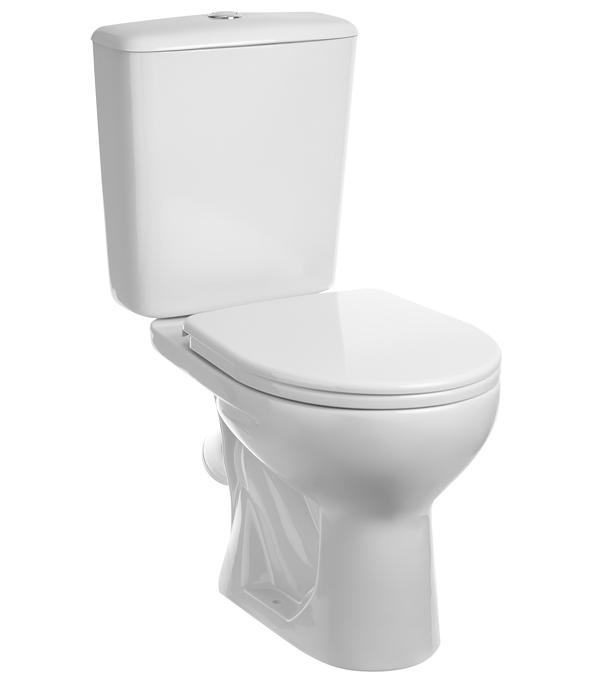 Унитаз-компакт SANTERI Орион с косым выпуском с сиденьем пластик santeri орион белый
