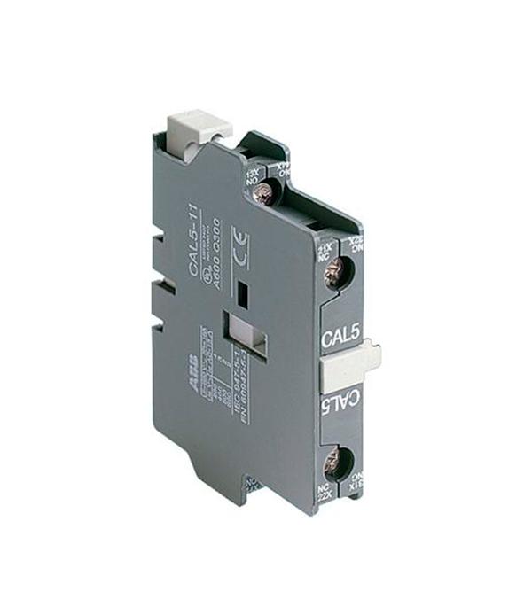 Блок контактный дополнительный АВВ CAL5X-11 боковой для контакторов цена