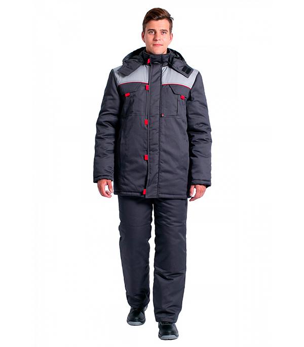 Куртка зимняя Delta Plus Фаворит размер 56-58 рост 182-188 темно-серый цвет куртка зимняя delta plus фаворит размер 56 58 рост 182 188