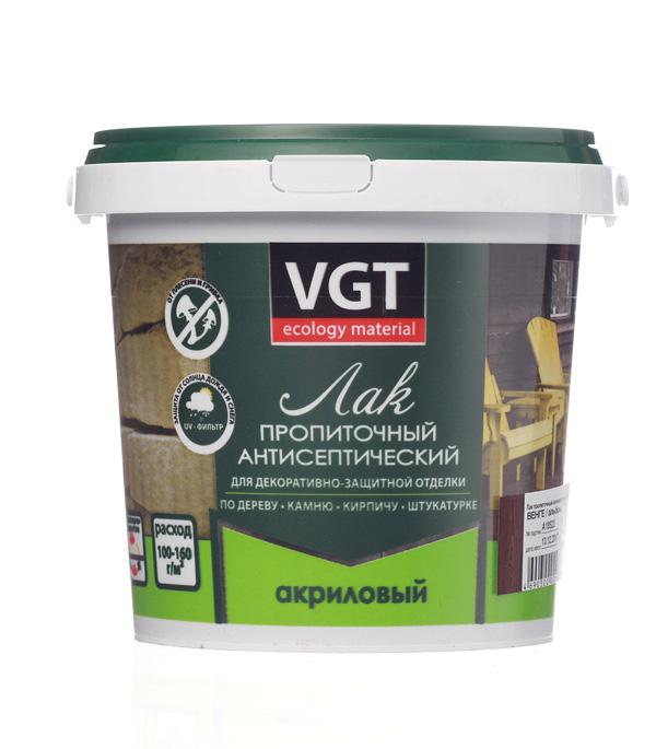Лак антисептик акриловый VGT венге 0,9 кг