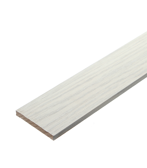 Наличник плоский дуб шале капучино ПВХ 70х8 мм