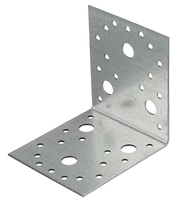 Уголок крепежный оцинкованный 105х105х90х2 мм уголок крепежный оцинкованный 105х105х90х2 5
