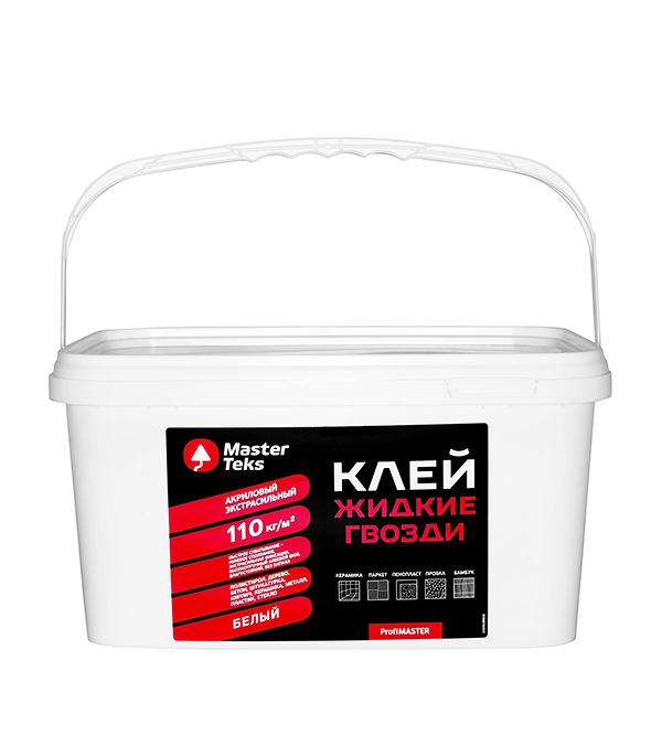 Жидкие гвозди MasterTeks экстрасильный 7,2 кг жидкие гвозди masterteks pm акриловый экстрасильный 7 2кг бе