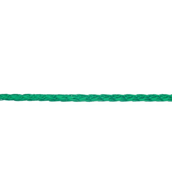 Плетеный шнур Белстройбат полипропиленовый зеленый d2.5 мм 50 м