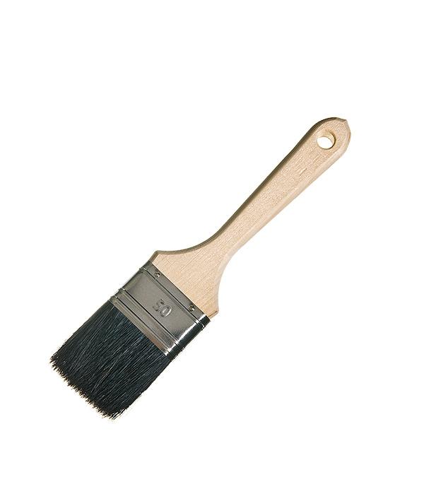 Кисть плоская Лазурный берег 50 мм натуральная щетина деревянная ручка кисть плоская 50 мм натуральная щетина деревянная ручка лазурный берег стандарт