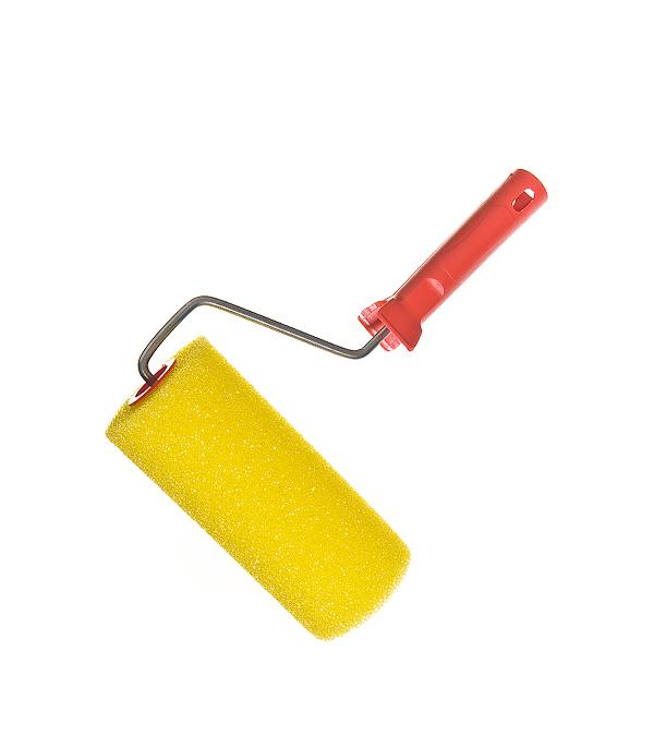 Валик структурный грубый 180 мм с несъемной рукояткой грубый малярный валик truper rod 139 19205