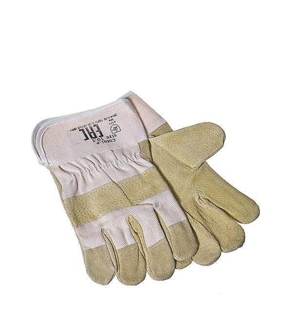 Перчатки спилковые комбинированные краги перчатки спилковые newton per21 summer yeti