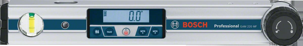 Угломер цифровой Bosch GAM 220 MF Professional угломер bosch pam 220 0603676020