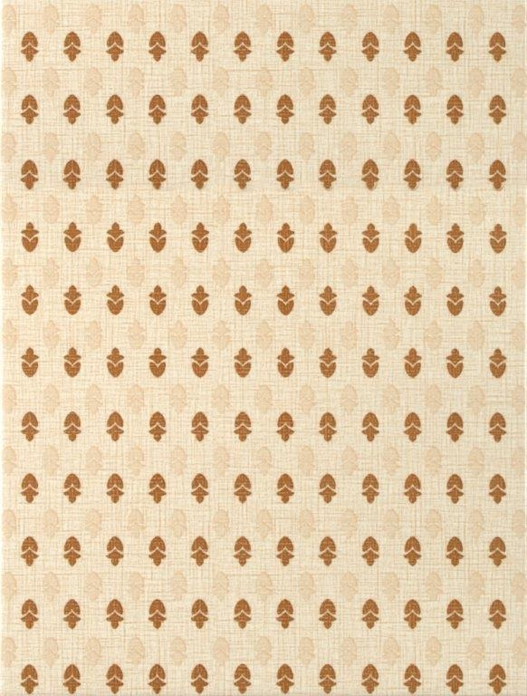 Плитка декор 250х330х7 мм Текстиль светло-бежевый 2