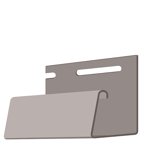 J-профиль Docke-R мм дымчатый 3050