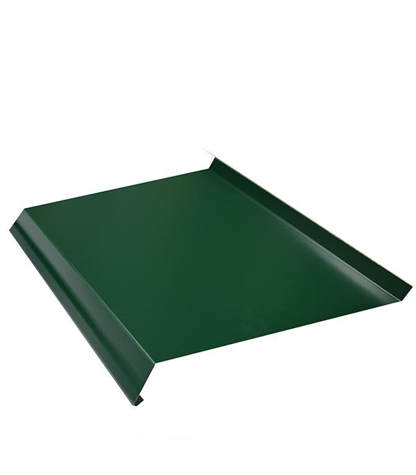 Отлив зеленый 150х2000 мм RAL6005
