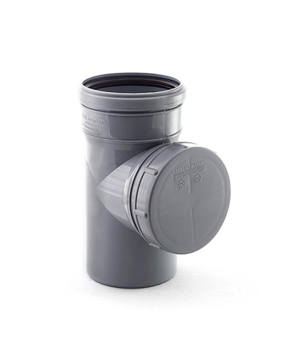 Ревизия внутренняя 110 мм однораструбная, РТП клапан обратный канализационный наружный 110 мм