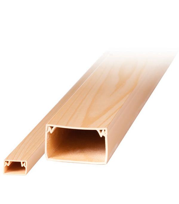 Кабель-канал 20х10 мм под дерево сосна 2 м кабель канал сосна 20х10 1 м п