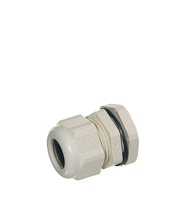 Сальник для ввода кабеля PG 16 d9-13 мм gira gira s 55 алюминий накладка ввода кабеля 027426