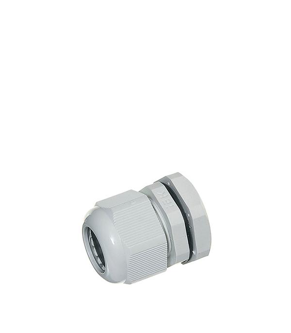 Сальник для ввода кабеля PG 21 d15-18 мм gira gira s 55 алюминий накладка ввода кабеля 027426