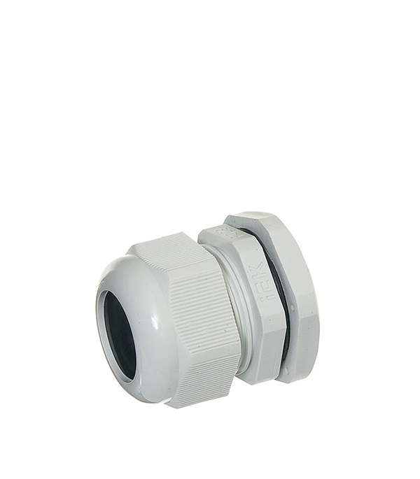 Сальник для ввода кабеля PG 29 d18-24 мм gira gira s 55 алюминий накладка ввода кабеля 027426