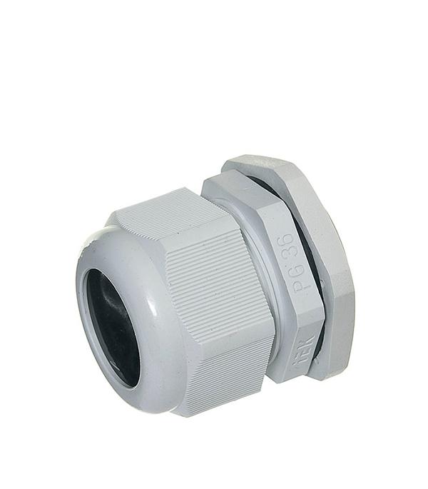 Сальник для ввода кабеля PG 36 d24-32 мм gira gira s 55 алюминий накладка ввода кабеля 027426