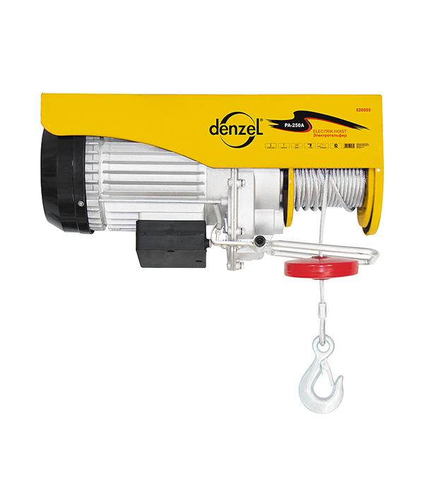 Тельфер электрический Denzel 1600 Вт 1000 кг цепной тельфер matrix 519845
