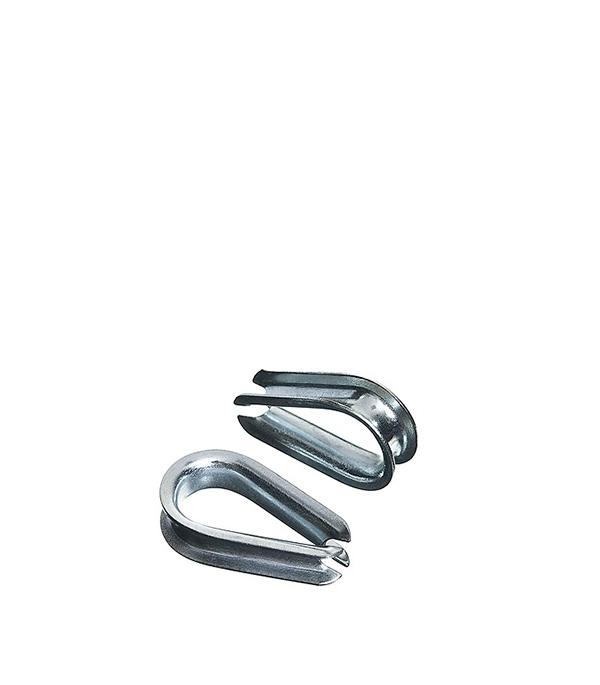 Коуш 3 мм DIN 6899 (2 шт) коуш для стальных канатов креп комп din 6899 м5 100шт кск5ф