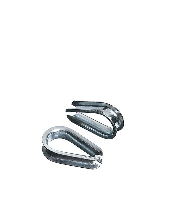 Коуш 4 мм DIN 6899 (2 шт) коуш для стальных канатов креп комп din 6899 м5 100шт кск5ф