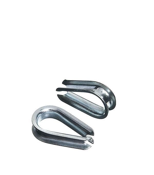 Коуш 5 мм DIN 6899 (2 шт) коуш для стальных канатов креп комп din 6899 м5 100шт кск5ф