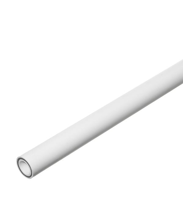 Труба полипропиленовая армированная стекловолокном Valtec 20х2000 мм PN 25  труба полипропиленовая армированная стекловолокном 32х2000 мм pn 25
