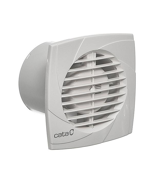 Вентилятор осевой Cata B-10 Plus d100 мм белый канальный вентилятор cata duct in line 100 130 d100 мм белый
