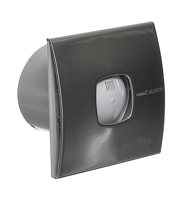Вентилятор осевой Cata Silentis 10 Inox d100 мм серебристый цены