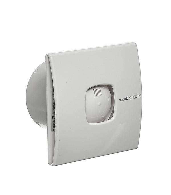 Вентилятор осевой Cata Silentis 10 d100 мм белый  вентилятор осевой d100 мм standard 4etf с фототаймером