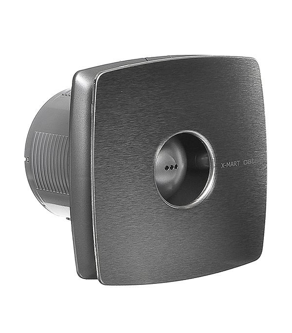 Вентилятор осевой Cata X-Mart 10 Inox d100 мм серебристый канальный вентилятор cata duct in line 100 130 d100 мм белый