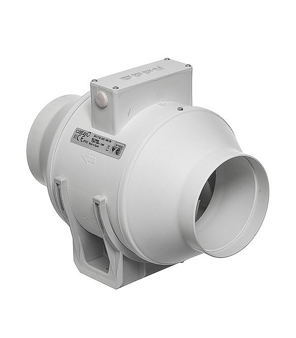 Вентилятор центробежный d100 мм Cata Duct In Line 100/130, белый