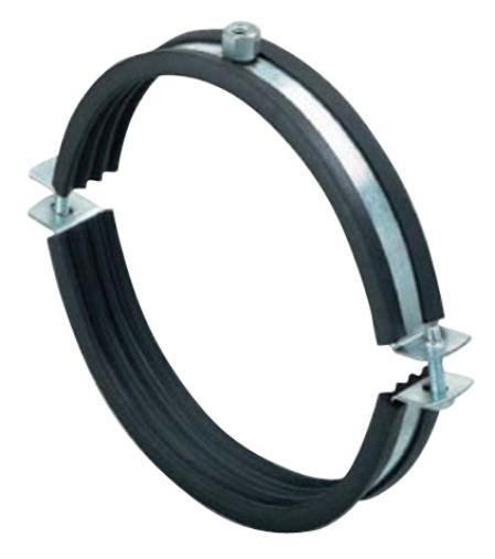 Хомут для монтажа круглых стальных воздуховодов d125 мм