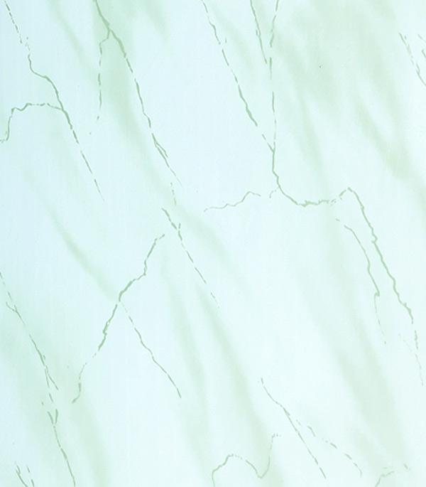 Панель ПВХ зеленый мрамор 250х2700х8 мм, Жемчужина