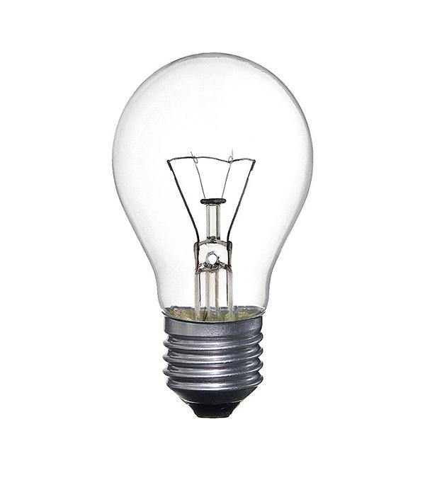 Лампа накаливания E27, 75W, груша, ЛОН