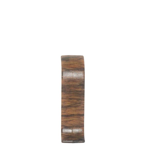 СоединительWimar 58 ммдубдворцовый(2 шт) плинтус пвх royal 76мм дуб светло серый 2 5м