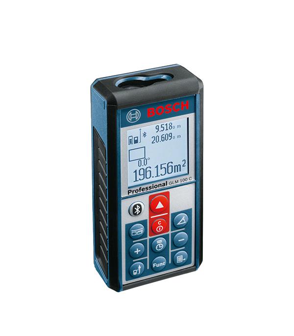 Лазерный дальномер Bosch GLM 100 C дальномер лазерный bosch plr 40 c 0603672320