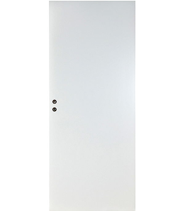 Дверное полотно VELLDORIS белое гладкое глухое М9х21 845х2050 мм с притвором  цена и фото