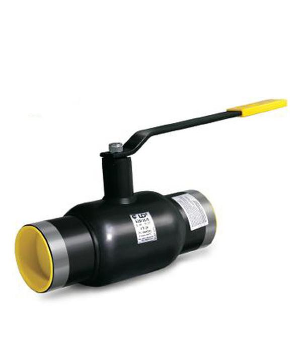 Кран шаровый приварной LD PN40 Ду32 стандартнопроходной стальной кран шаровый муфтовый ld pn40 ду15 1 2 в в стандартнопроходной стальной