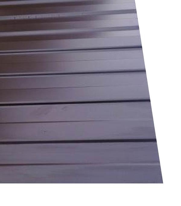 где купить Профнастил С8 1.20х2.00 м толщина 0.37 мм коричневый RAL8017 по лучшей цене
