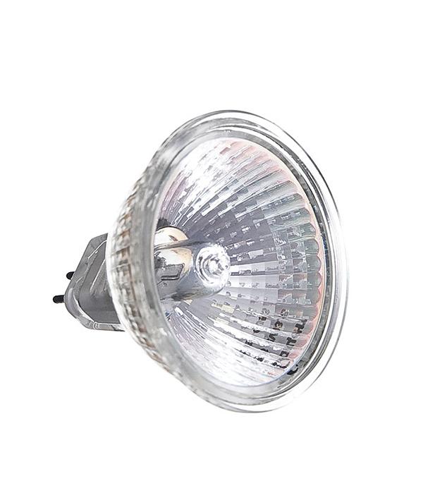 Лампа галогенная MR16, GU5.3, 50W, 12V, Акцент