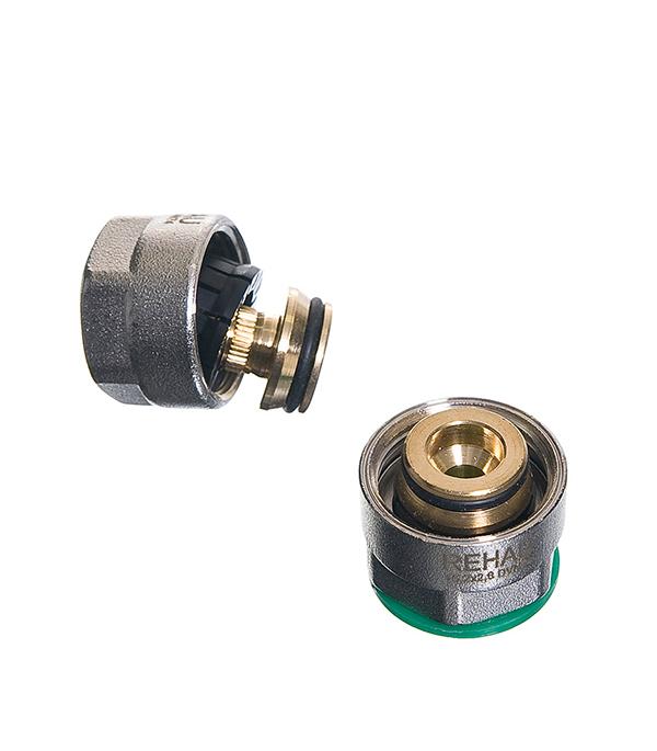 Евроконус Rehau Rautitan Stabil 16 х 3/4 внутр(г) для металлополимерной трубы (2 шт) евроконус rehau rautitan flex 16 х 3 4 внутр г для полиэтиленовой трубы
